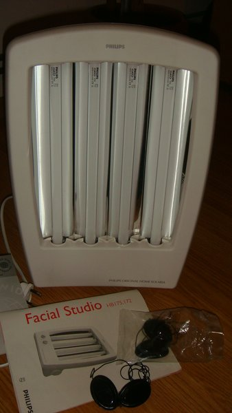Vand solar facial Philips (Facial Studio HB 172)